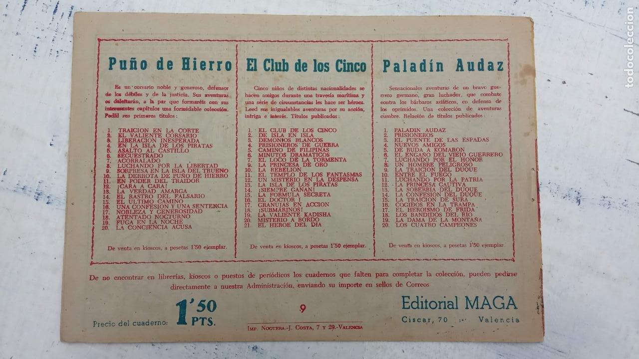 Tebeos: EL CAPITÁN VALIENTE ORIGINAL LOTE 2 AL 18 MENOS EL 15, MAGNÍFICO ESTADO, VER TODAS LAS PORTADAS - Foto 25 - 188515530