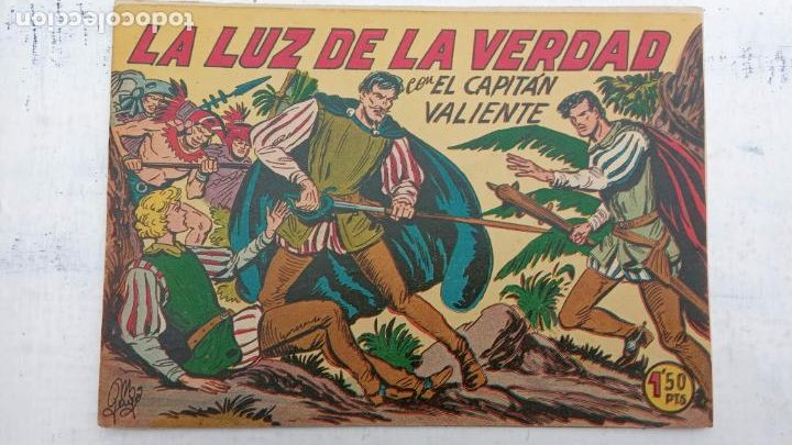 Tebeos: EL CAPITÁN VALIENTE ORIGINAL LOTE 2 AL 18 MENOS EL 15, MAGNÍFICO ESTADO, VER TODAS LAS PORTADAS - Foto 26 - 188515530