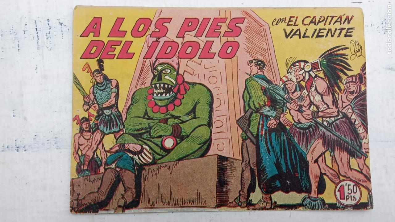 Tebeos: EL CAPITÁN VALIENTE ORIGINAL LOTE 2 AL 18 MENOS EL 15, MAGNÍFICO ESTADO, VER TODAS LAS PORTADAS - Foto 31 - 188515530