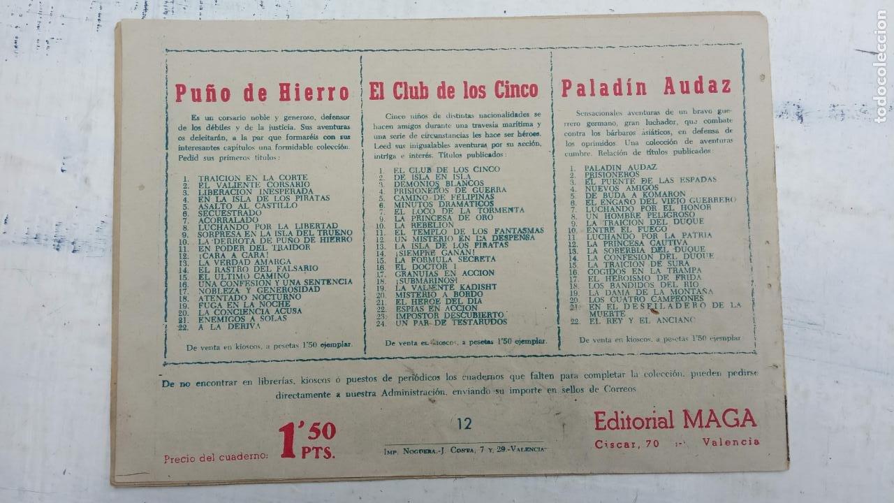 Tebeos: EL CAPITÁN VALIENTE ORIGINAL LOTE 2 AL 18 MENOS EL 15, MAGNÍFICO ESTADO, VER TODAS LAS PORTADAS - Foto 32 - 188515530