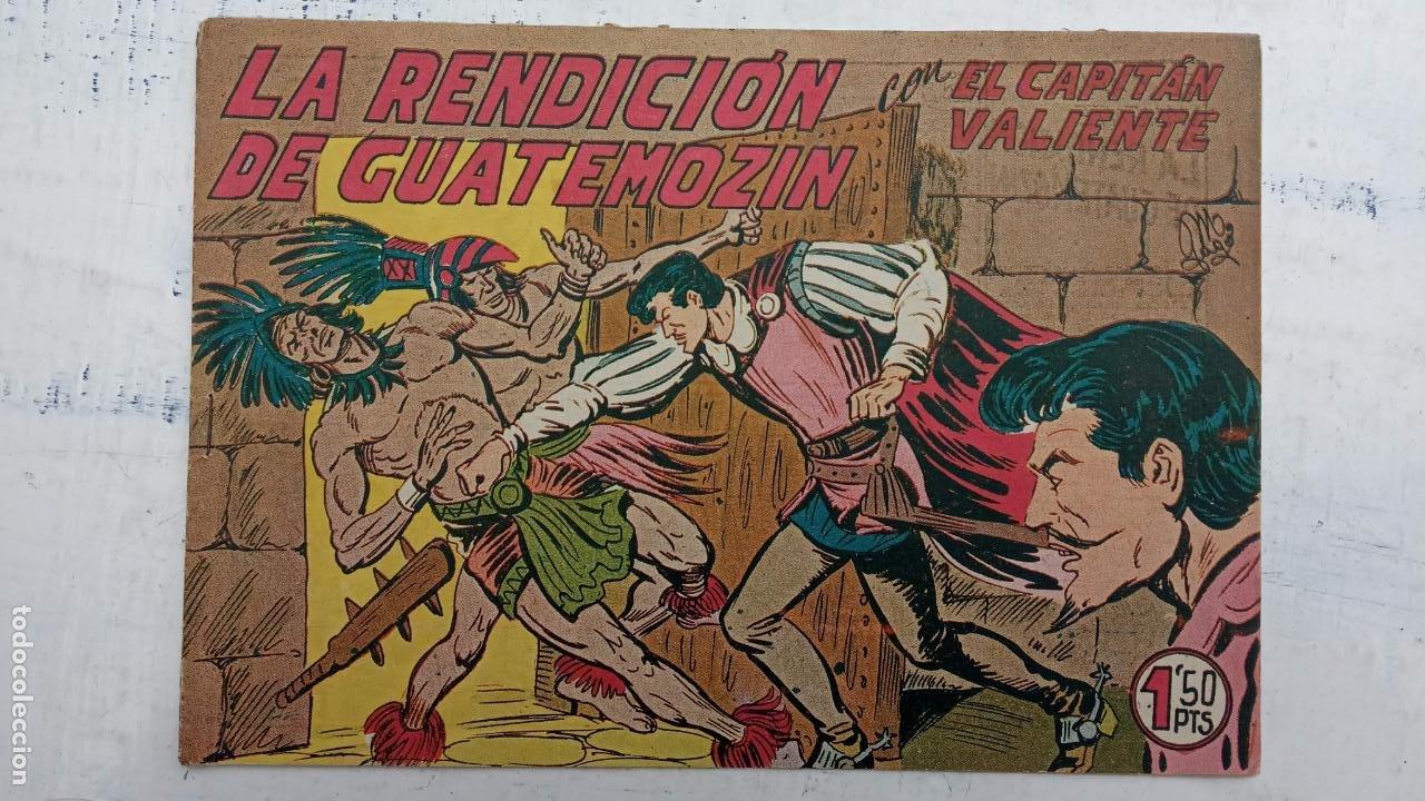 Tebeos: EL CAPITÁN VALIENTE ORIGINAL LOTE 2 AL 18 MENOS EL 15, MAGNÍFICO ESTADO, VER TODAS LAS PORTADAS - Foto 34 - 188515530