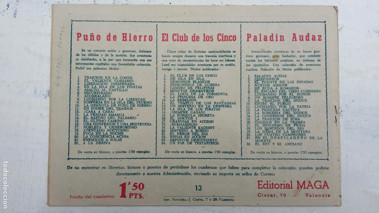 Tebeos: EL CAPITÁN VALIENTE ORIGINAL LOTE 2 AL 18 MENOS EL 15, MAGNÍFICO ESTADO, VER TODAS LAS PORTADAS - Foto 35 - 188515530