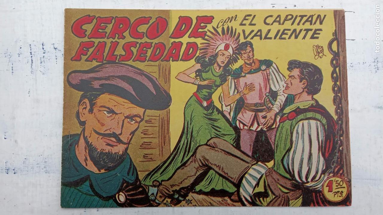 Tebeos: EL CAPITÁN VALIENTE ORIGINAL LOTE 2 AL 18 MENOS EL 15, MAGNÍFICO ESTADO, VER TODAS LAS PORTADAS - Foto 38 - 188515530