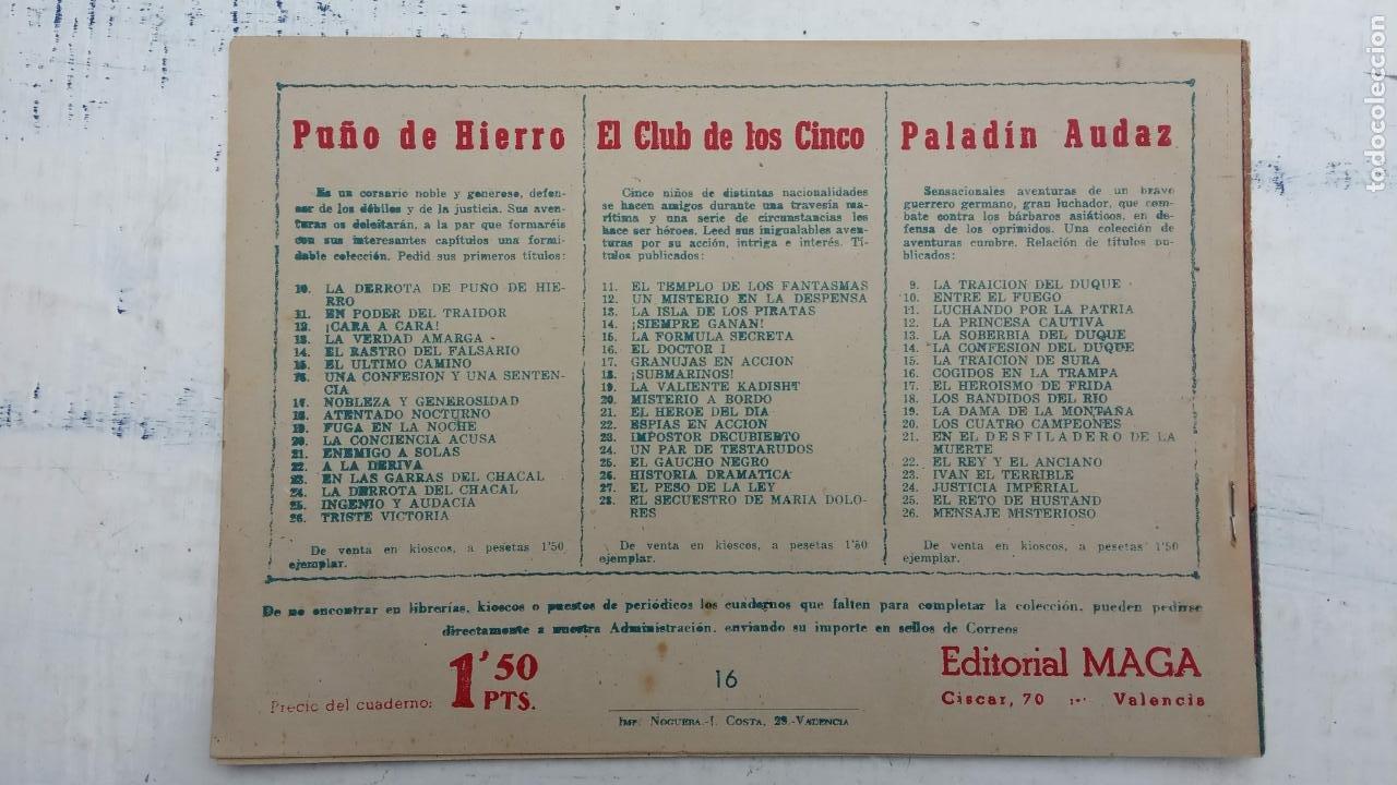 Tebeos: EL CAPITÁN VALIENTE ORIGINAL LOTE 2 AL 18 MENOS EL 15, MAGNÍFICO ESTADO, VER TODAS LAS PORTADAS - Foto 39 - 188515530