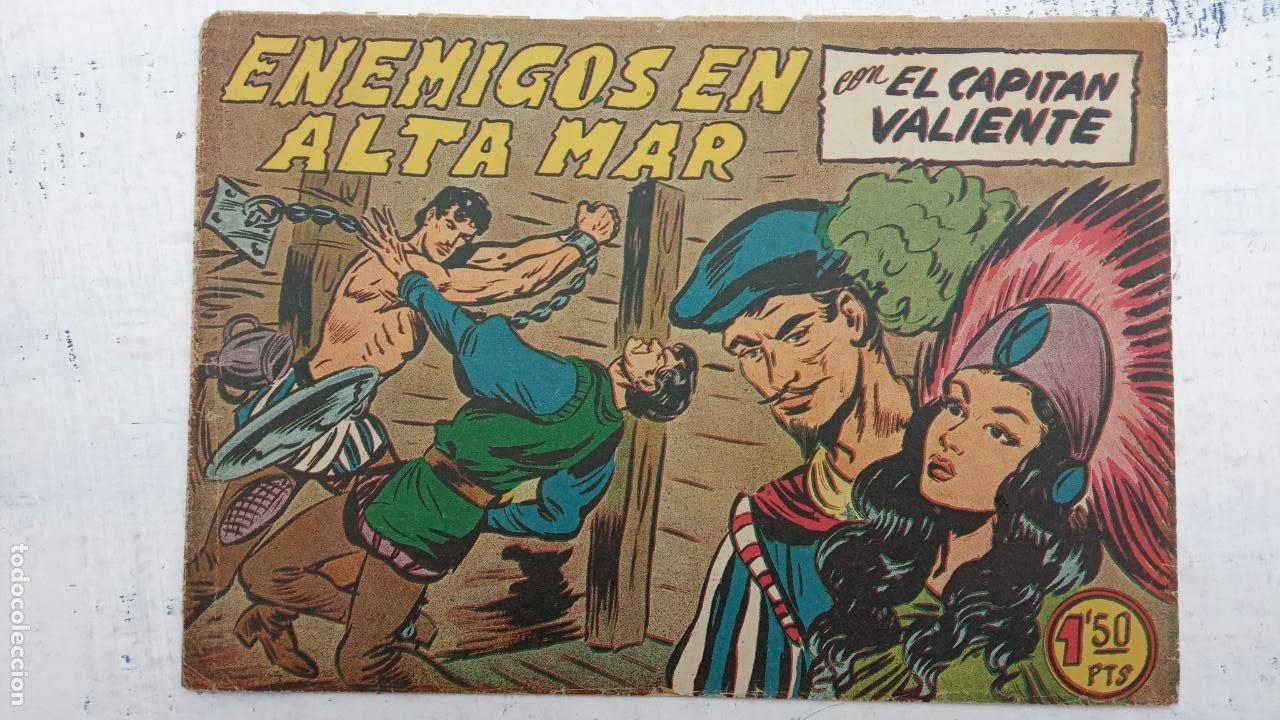 Tebeos: EL CAPITÁN VALIENTE ORIGINAL LOTE 2 AL 18 MENOS EL 15, MAGNÍFICO ESTADO, VER TODAS LAS PORTADAS - Foto 40 - 188515530