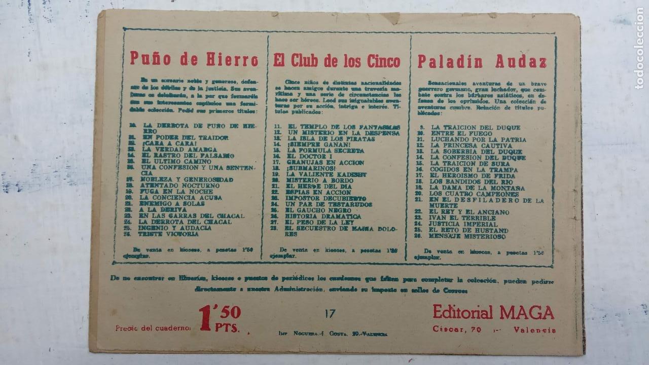 Tebeos: EL CAPITÁN VALIENTE ORIGINAL LOTE 2 AL 18 MENOS EL 15, MAGNÍFICO ESTADO, VER TODAS LAS PORTADAS - Foto 41 - 188515530