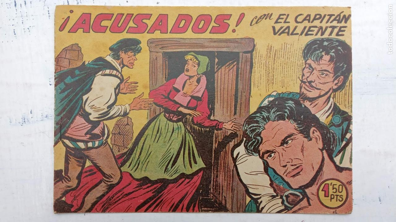 Tebeos: EL CAPITÁN VALIENTE ORIGINAL LOTE 2 AL 18 MENOS EL 15, MAGNÍFICO ESTADO, VER TODAS LAS PORTADAS - Foto 42 - 188515530