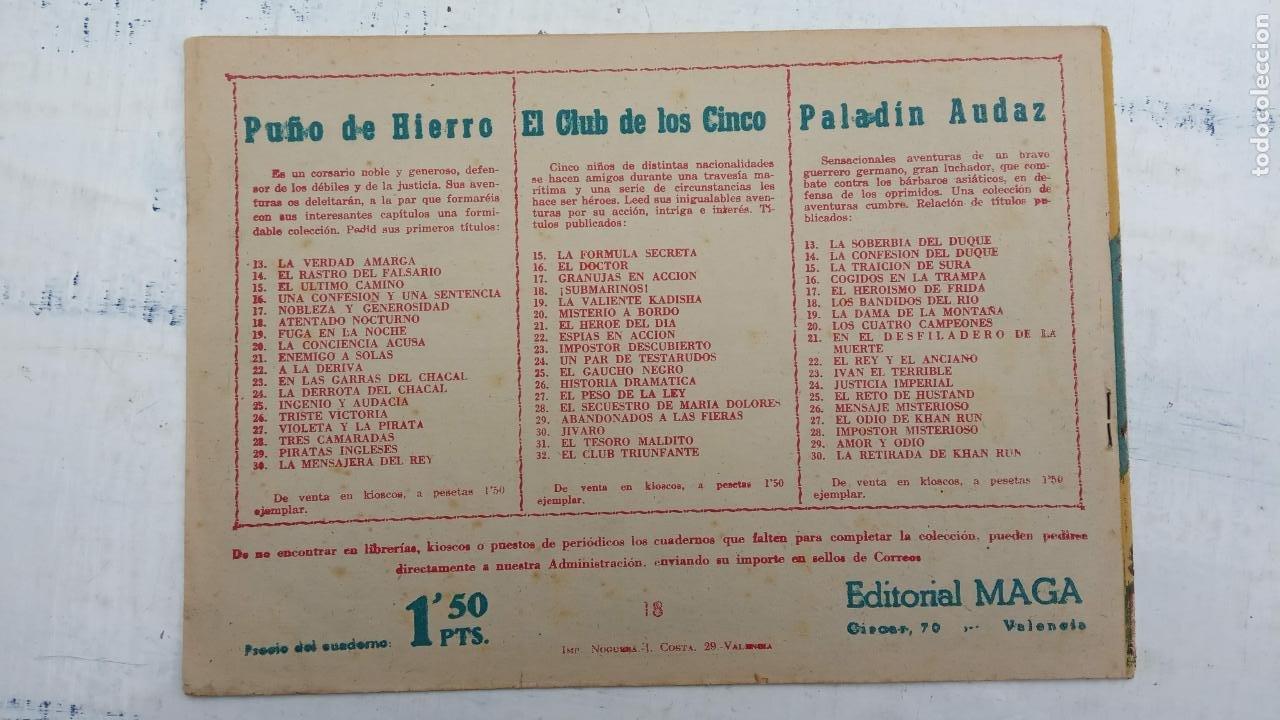 Tebeos: EL CAPITÁN VALIENTE ORIGINAL LOTE 2 AL 18 MENOS EL 15, MAGNÍFICO ESTADO, VER TODAS LAS PORTADAS - Foto 43 - 188515530