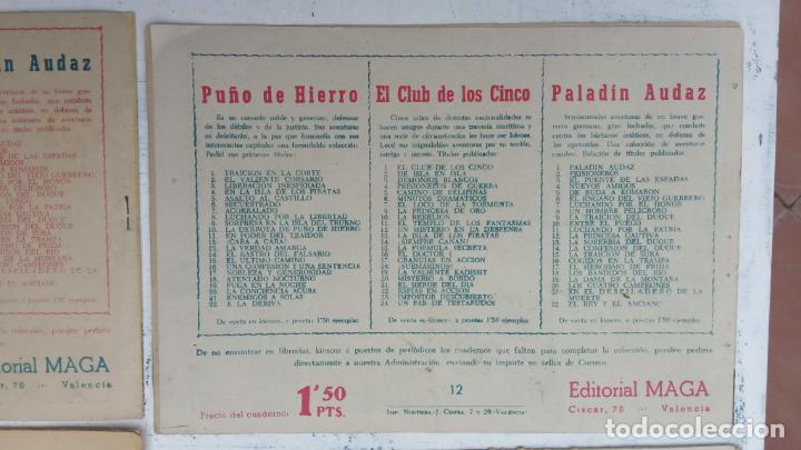 Tebeos: EL CAPITÁN VALIENTE ORIGINAL LOTE 2 AL 18 MENOS EL 15, MAGNÍFICO ESTADO, VER TODAS LAS PORTADAS - Foto 49 - 188515530