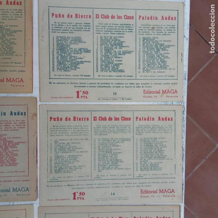 Tebeos: EL CAPITÁN VALIENTE ORIGINAL LOTE 2 AL 18 MENOS EL 15, MAGNÍFICO ESTADO, VER TODAS LAS PORTADAS - Foto 50 - 188515530