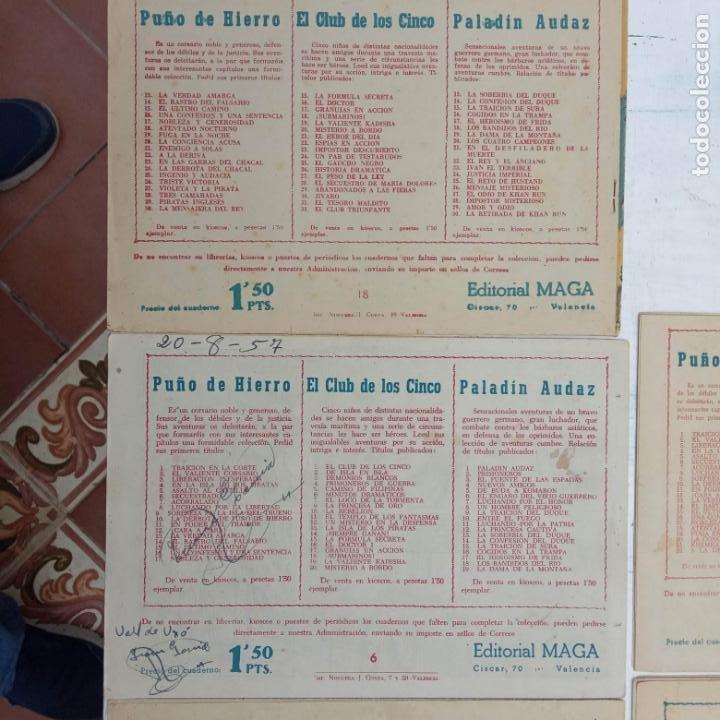 Tebeos: EL CAPITÁN VALIENTE ORIGINAL LOTE 2 AL 18 MENOS EL 15, MAGNÍFICO ESTADO, VER TODAS LAS PORTADAS - Foto 52 - 188515530