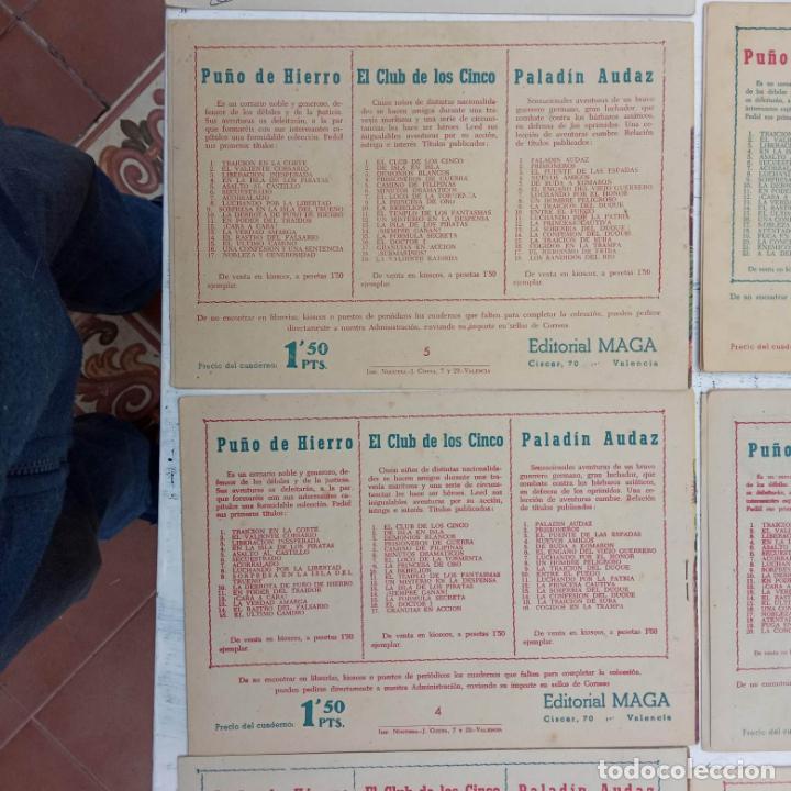 Tebeos: EL CAPITÁN VALIENTE ORIGINAL LOTE 2 AL 18 MENOS EL 15, MAGNÍFICO ESTADO, VER TODAS LAS PORTADAS - Foto 53 - 188515530