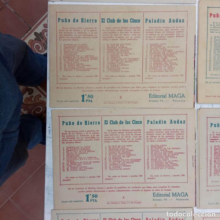 Tebeos: EL CAPITÁN VALIENTE ORIGINAL LOTE 2 AL 18 MENOS EL 15, MAGNÍFICO ESTADO, VER TODAS LAS PORTADAS - Foto 54 - 188515530