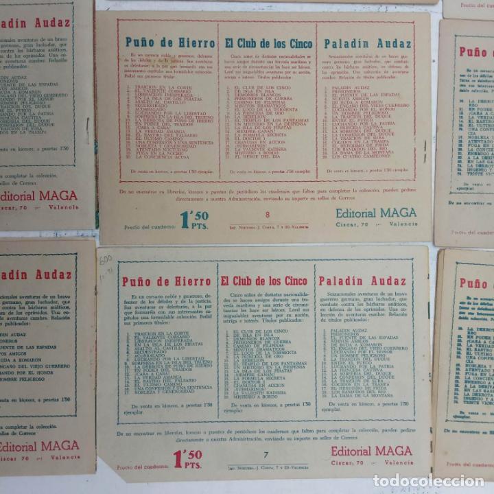 Tebeos: EL CAPITÁN VALIENTE ORIGINAL LOTE 2 AL 18 MENOS EL 15, MAGNÍFICO ESTADO, VER TODAS LAS PORTADAS - Foto 56 - 188515530