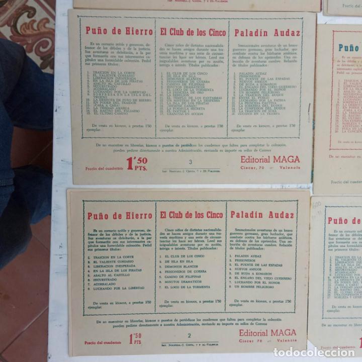 Tebeos: EL CAPITÁN VALIENTE ORIGINAL LOTE 2 AL 18 MENOS EL 15, MAGNÍFICO ESTADO, VER TODAS LAS PORTADAS - Foto 57 - 188515530