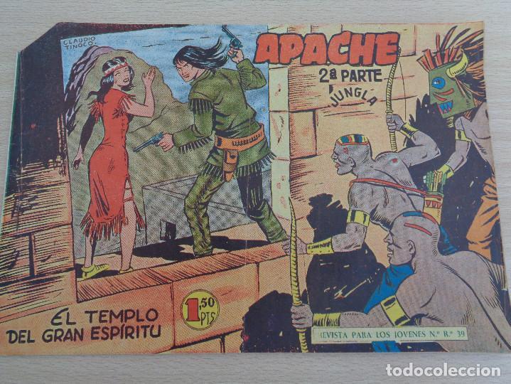 APACHE NÚM. 38. SEGUNDA PARTE. ORIGINAL. EDITA MAGA. BUEN ESTADO (Tebeos y Comics - Maga - Apache)