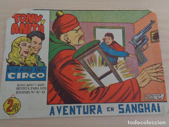TONY Y ANITA NÚM. 66. AVENTURA EN SHANGAI. ORIGINAL. EDITA MAGA. (Tebeos y Comics - Maga - Tony y Anita)