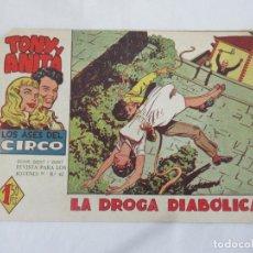 Tebeos: TONY Y ANITA - LOS ASES DEL CIRCO Nº 2 - MAGA. Lote 189494315