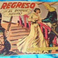 Tebeos: EL DUQUE NEGRO Nº 42, ORIGINAL Y ULTIMO EN BUEN ESTADO- LEER. Lote 189572652