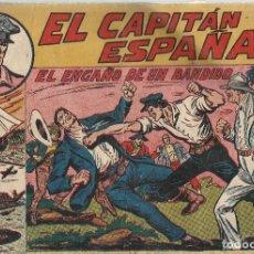 Tebeos: EL CAPITAN ESPAÑA - EL ENGAÑO DE UN BANDIDO - Nº 14 ORIGINAL. Lote 190054322