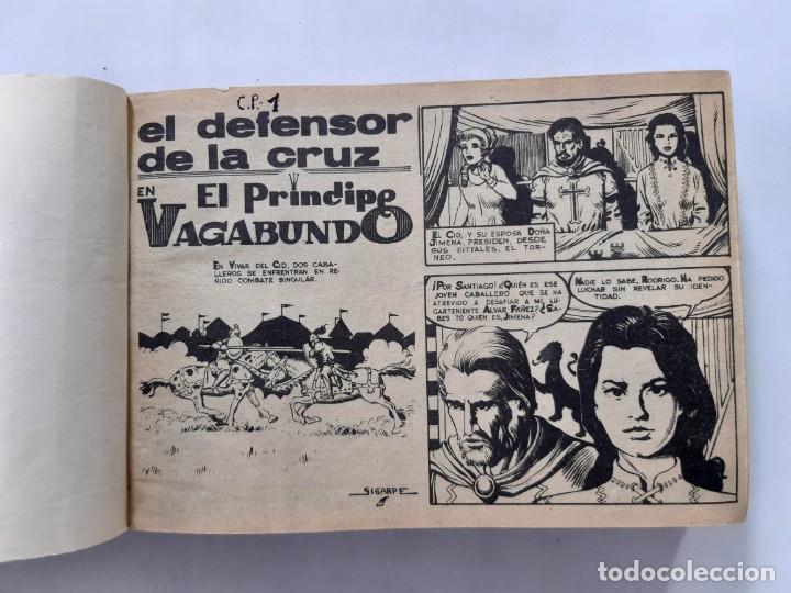 EL DEFENSOR DE LA CRUZ-MAGA-1964-COMPLETA EN UN TOMO-ORIGINAL (Tebeos y Comics - Maga - Otros)