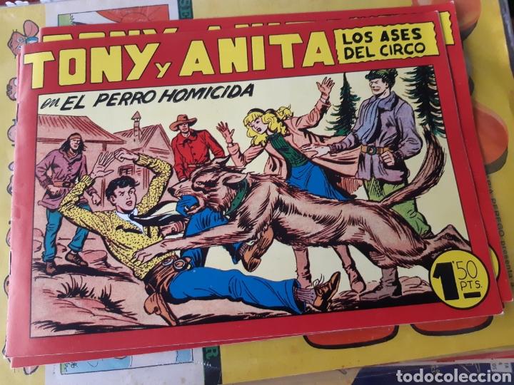 TEBEOS-COMICS CANDY - TONY Y ANITA 127 - MAGA - AA98 (Tebeos y Comics - Maga - Tony y Anita)