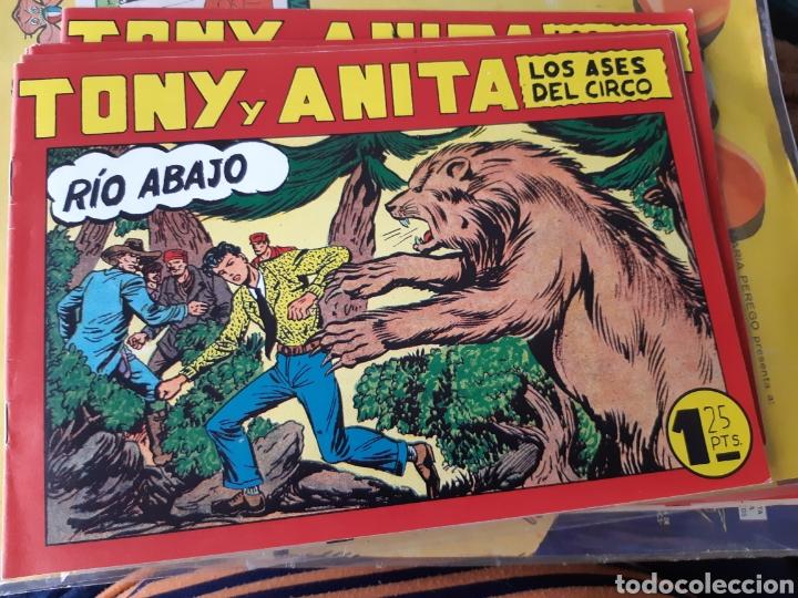 TEBEOS COMICS CANDY - TONY Y ANITA 123 - MAGA- AA98 (Tebeos y Comics - Maga - Tony y Anita)