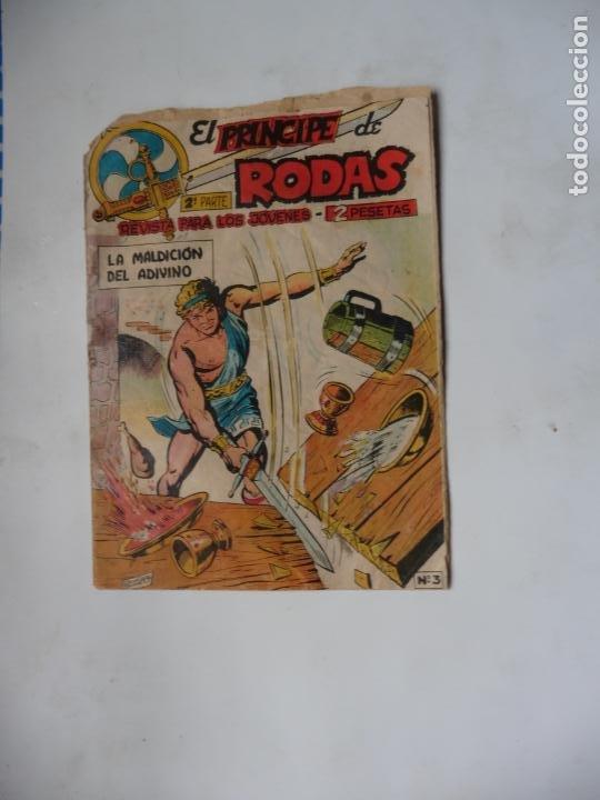 PRINCIPE DE RODAS Nº3 ORIGINAL MAGA (Tebeos y Comics - Maga - Otros)
