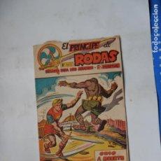 Tebeos: PRINCIPE DE RODAS Nº19 ORIGINAL MAGA. Lote 190498473