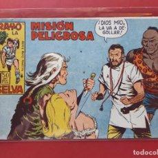 Tebeos: RAYO DE LA SELVA Nº 16 ORIGINAL MAGA 1960. Lote 190524015