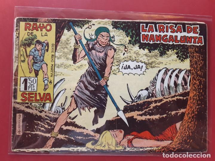 RAYO DE LA SELVA Nº 19 ORIGINAL MAGA 1960 (Tebeos y Comics - Maga - Rayo de la Selva)