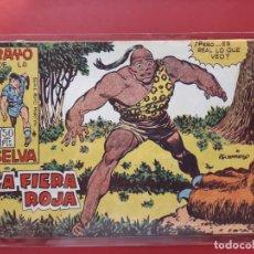 Tebeos: RAYO DE LA SELVA Nº 20 ORIGINAL MAGA 1960. Lote 190524136