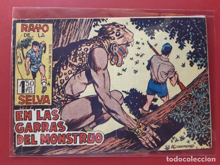 RAYO DE LA SELVA Nº 21 ORIGINAL MAGA 1960 (Tebeos y Comics - Maga - Rayo de la Selva)