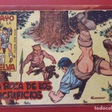 Tebeos: RAYO DE LA SELVA Nº 22 ORIGINAL MAGA 1960. Lote 190524197