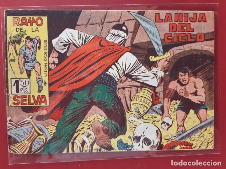 RAYO DE LA SELVA Nº 38 ORIGINAL MAGA 1960 (Tebeos y Comics - Maga - Rayo de la Selva)