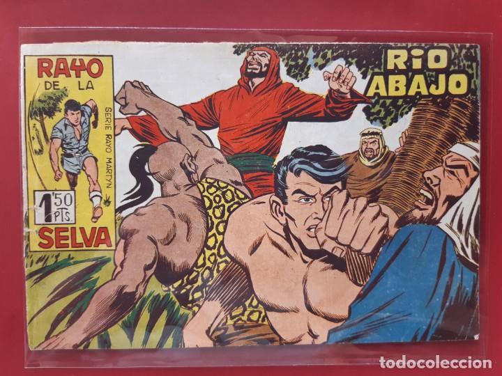 RAYO DE LA SELVA Nº 40 ORIGINAL MAGA 1960 (Tebeos y Comics - Maga - Rayo de la Selva)