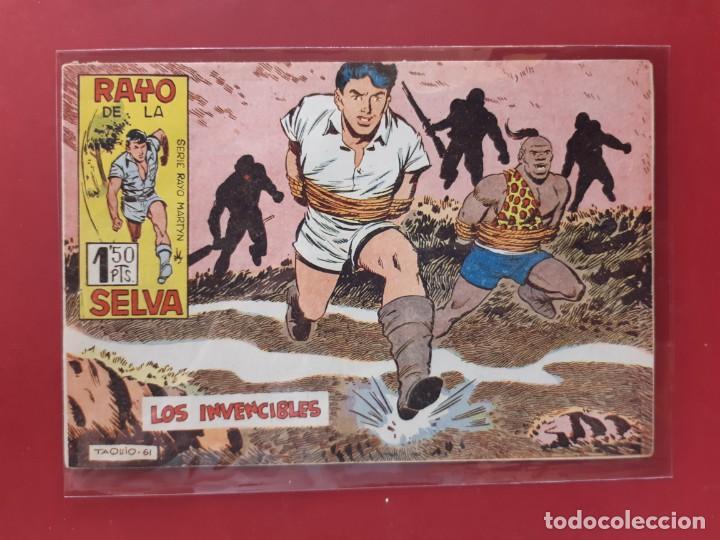 RAYO DE LA SELVA Nº 44 ORIGINAL MAGA 1960 (Tebeos y Comics - Maga - Rayo de la Selva)