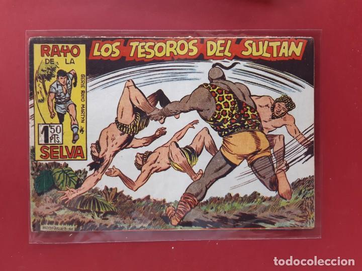 RAYO DE LA SELVA Nº 46 ORIGINAL MAGA 1960 (Tebeos y Comics - Maga - Rayo de la Selva)
