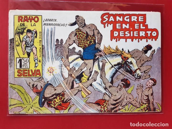 RAYO DE LA SELVA Nº 50 ORIGINAL MAGA 1960 (Tebeos y Comics - Maga - Rayo de la Selva)