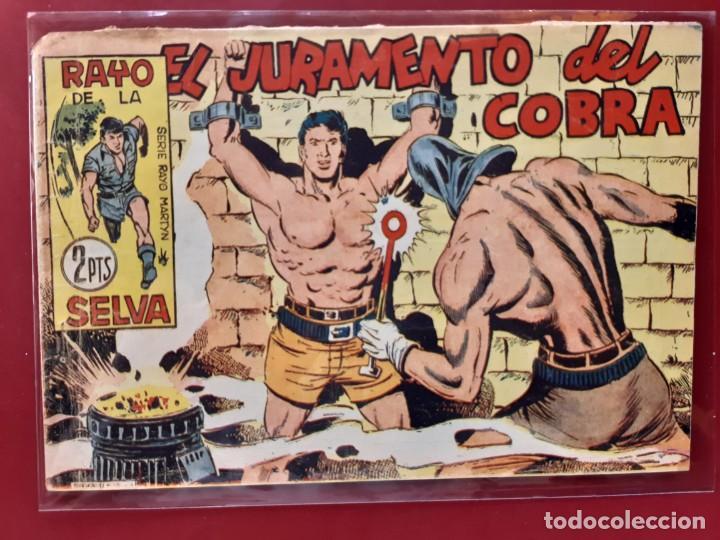 RAYO DE LA SELVA Nº 52 ORIGINAL MAGA 1960 (Tebeos y Comics - Maga - Rayo de la Selva)