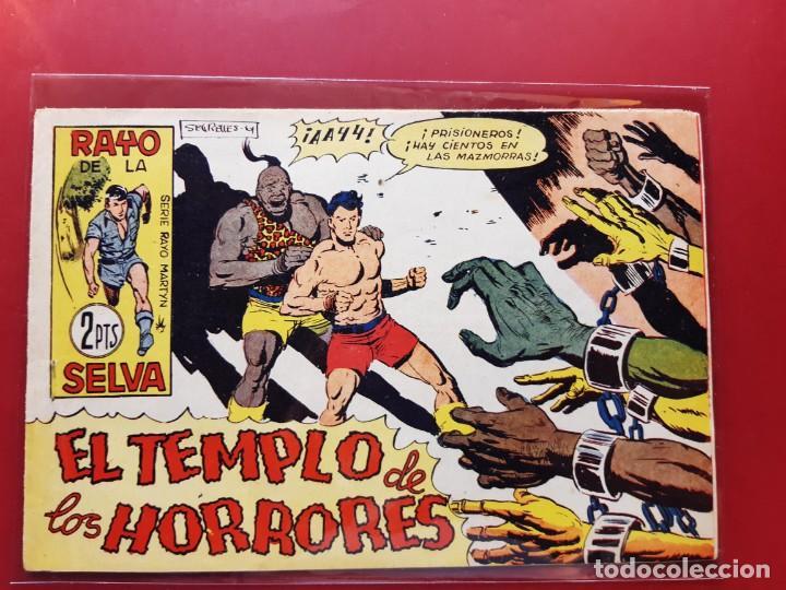 RAYO DE LA SELVA Nº 56 ORIGINAL MAGA 1960 (Tebeos y Comics - Maga - Rayo de la Selva)