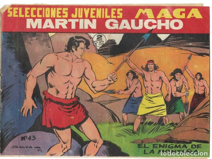 SELECCIONES JUVENILES MAGA - MARTÍN GAUCHO Nº43 - BUEN ESTADO (Tebeos y Comics - Maga - Otros)