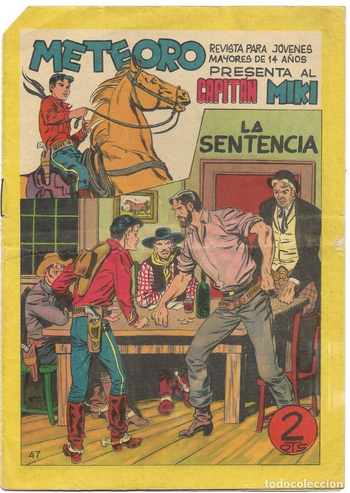 METEORO PRESENTA AL CAPITÁN MIKI Nº47 - BUEN ESTADO (Tebeos y Comics - Maga - Otros)