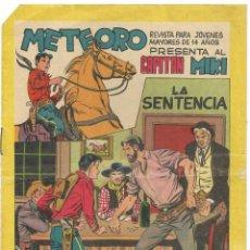 Tebeos: METEORO PRESENTA AL CAPITÁN MIKI Nº47 - BUEN ESTADO. Lote 190738365