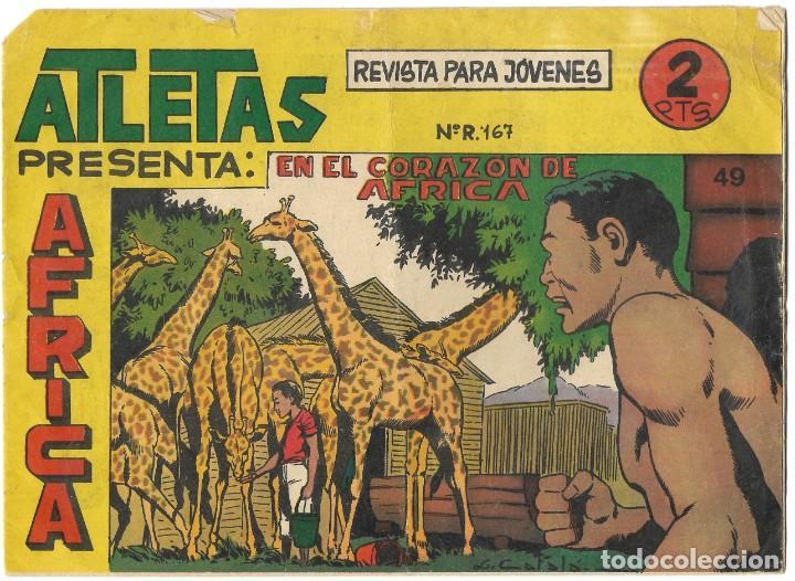 ATLETAS PRESENTA ÁFRICA Nº 49 - BUEN ESTADO (Tebeos y Comics - Maga - Otros)