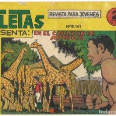 Tebeos: ATLETAS PRESENTA ÁFRICA Nº 49 - BUEN ESTADO. Lote 190738637