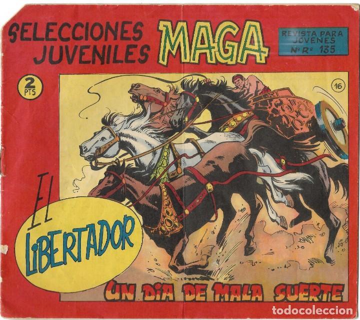 SELECCIONES JUVENILES MAGA - EL LIBERTADOR Nº 16 - BUEN ESTADO (Tebeos y Comics - Maga - Otros)