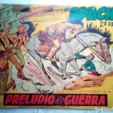 Tebeos: APACHE-II PARTE-Nº 1 -PRELUDIO DE GUERRA-1960-GRAN CALUDIO TINOCO-MUY DIFÍCIL-CORRECTO-LEAN-2900. Lote 190764547