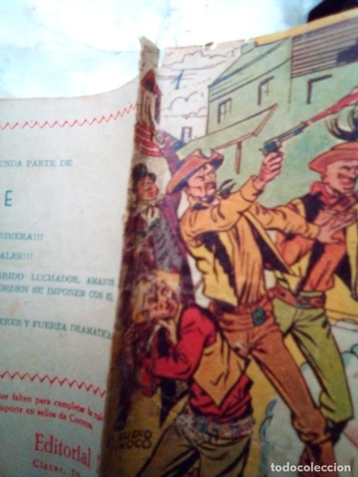 Tebeos: APACHE-II PARTE-Nº 1 -PRELUDIO DE GUERRA-1960-GRAN CALUDIO TINOCO-MUY DIFÍCIL-CORRECTO-LEAN-2900 - Foto 2 - 190764547