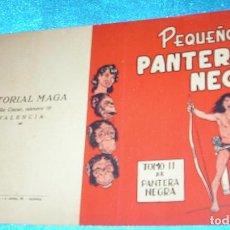 Tebeos: PEQUEÑO PANTERA NEGRA TAPAS PARA EL VOLUMEN II-ORIGINAL- LEER Y VER FOTOS. Lote 191265172